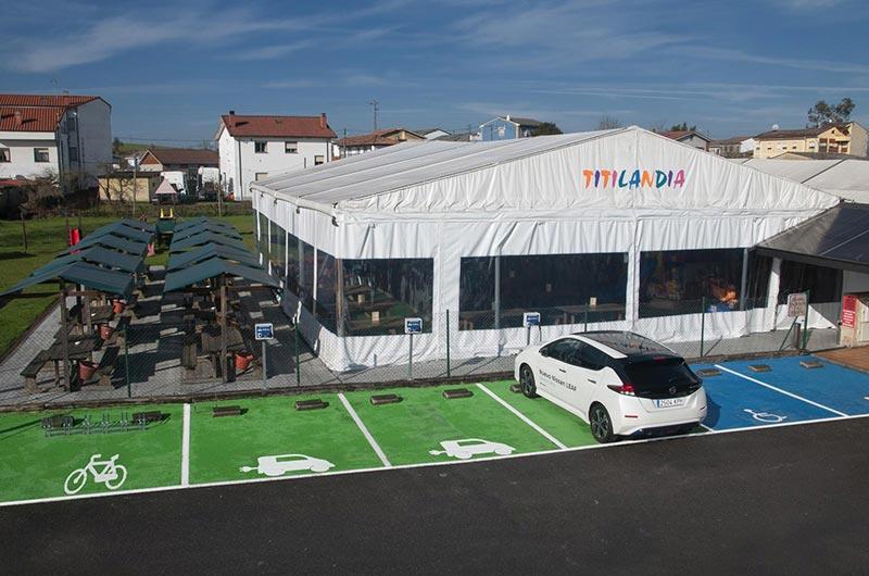 Restaurantes con hinchables en Oviedo